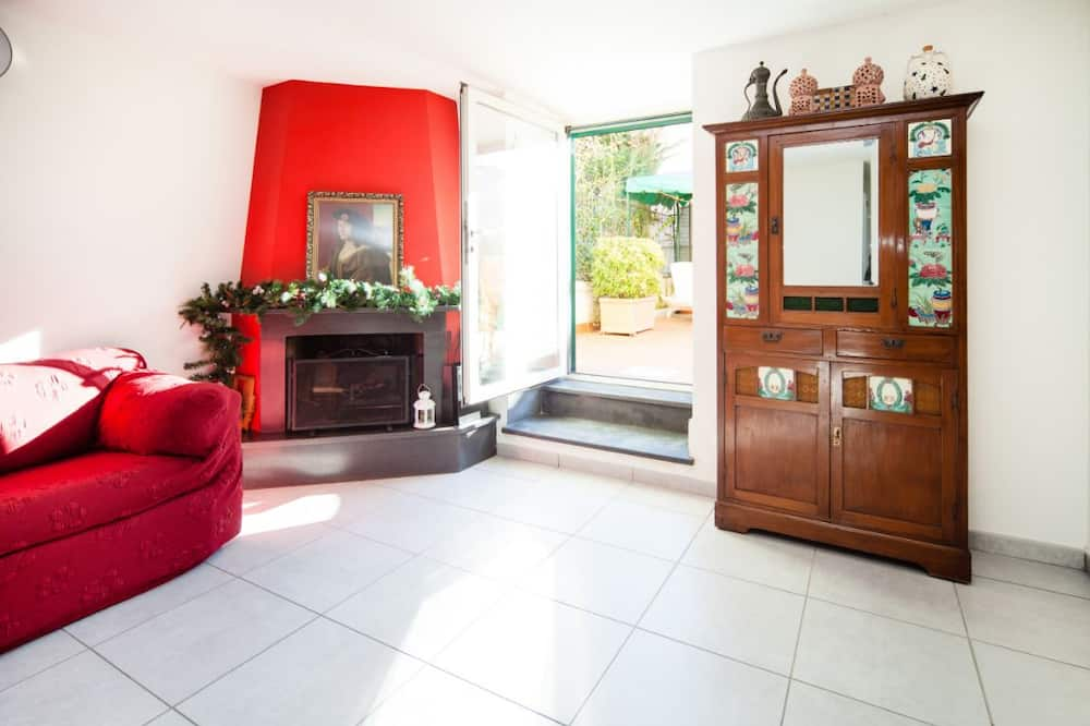 Appartement, 1 slaapkamer, uitzicht op tuin - Woonruimte