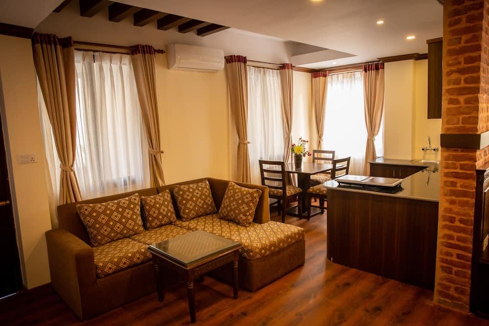 Tradicionāls dzīvokļnumurs - Dzīvojamā istaba