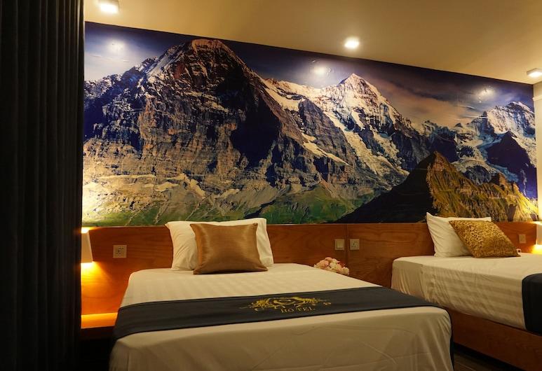 Khách sạn Cozi9, Hải Phòng, Phòng 2 giường đơn Deluxe, Quang cảnh đồi núi, Phòng