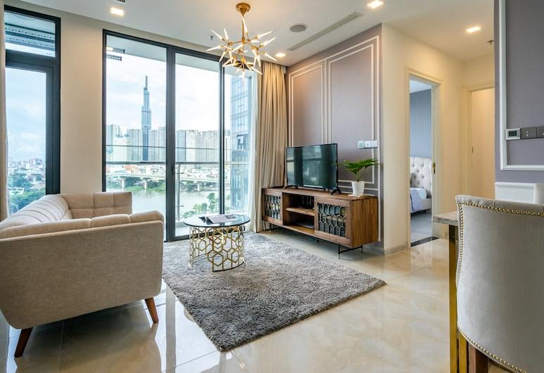 Feliz Saigon, Ho Chi Minh City, Luxury Apartment, 2 Bedrooms, Living Area