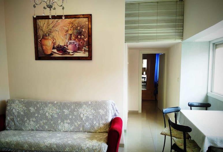 S&L Near The Rambam And The Sea, Haifa, Komforta dzīvokļnumurs, viena guļamistaba, Dzīvojamā istaba
