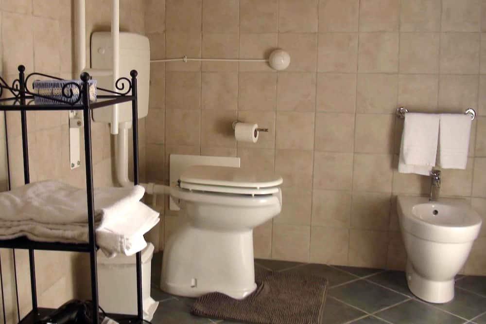 Doppia Elite, 1 letto queen, accessibile ai disabili (3) - Bagno