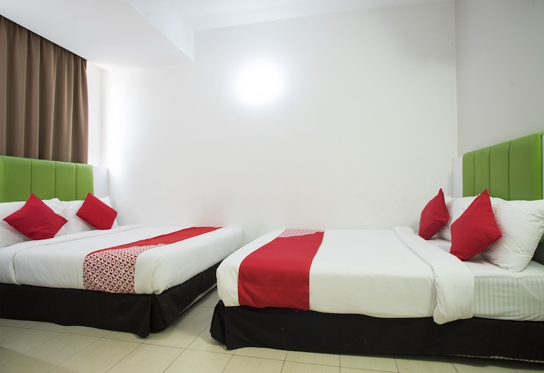 OYO 1003 Rich Calton Hotel, Kuala Lumpur, Suite Premium, 2 lits doubles, Chambre