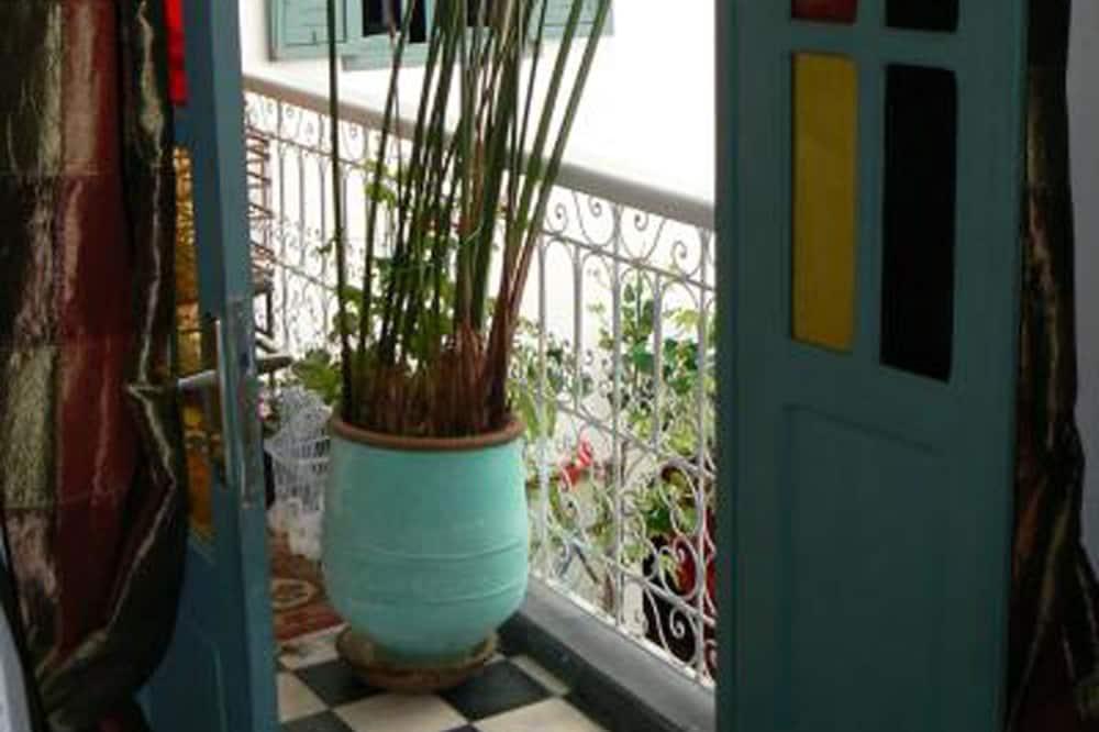 Grand-dobbeltværelse - 1 dobbeltseng med sovesofa - ikke-ryger - privat badeværelse (Azemmour) - Udsigt fra altan