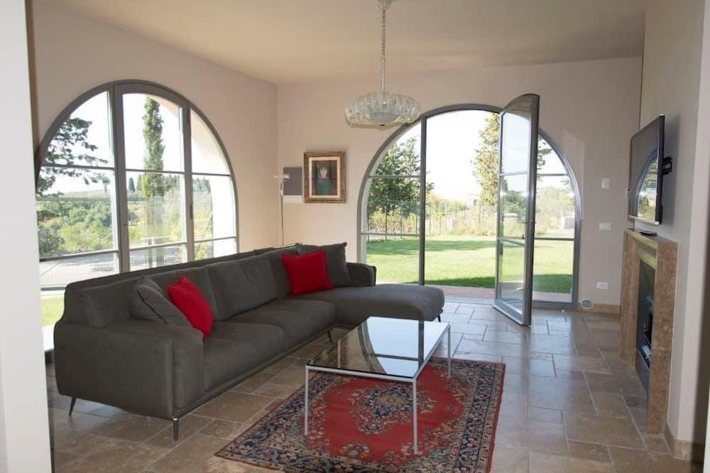 Superior appartement, 2 queensize bedden (Leonardo) - Woonkamer