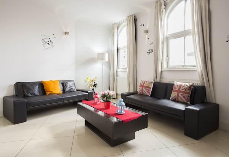 Liverpool Street Flats, London, Apartment, 2Schlafzimmer, Wohnzimmer
