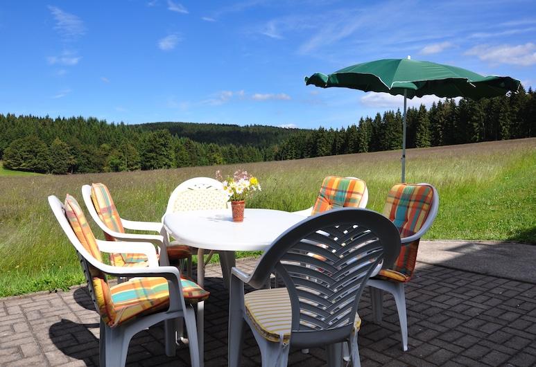 Gästehaus am Rubelsberg, Suhl, Terraza o patio