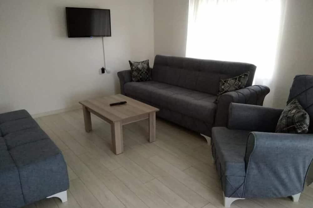 Suite, Meerblick (Twin) - Wohnbereich