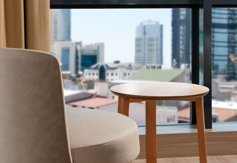 Istanbull Hotel & Spa Bomonti, Istanbul, Camera Standard con letto matrimoniale o 2 letti singoli, Vista dalla camera