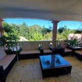 Appartement Panoramique, vue montagne - Terrasse/Patio
