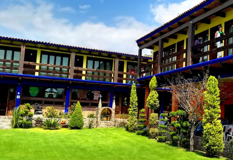 特奧蒂瓦坎爺爺莊園酒店, 特奧蒂瓦坎, 酒店內