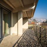 Апартаменты, 1 спальня (Du) - Балкон