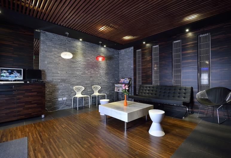 Sees Revert Hotel, New Taipei City, Priestory na sedenie v hale