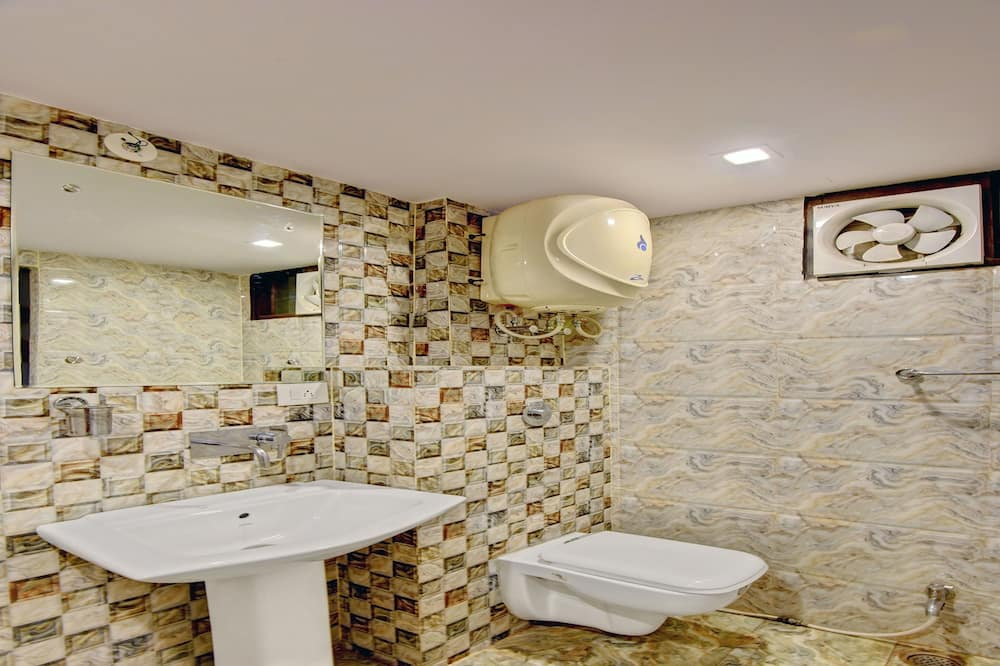 Standard-Einzelzimmer, 1 Queen-Bett - Badezimmer