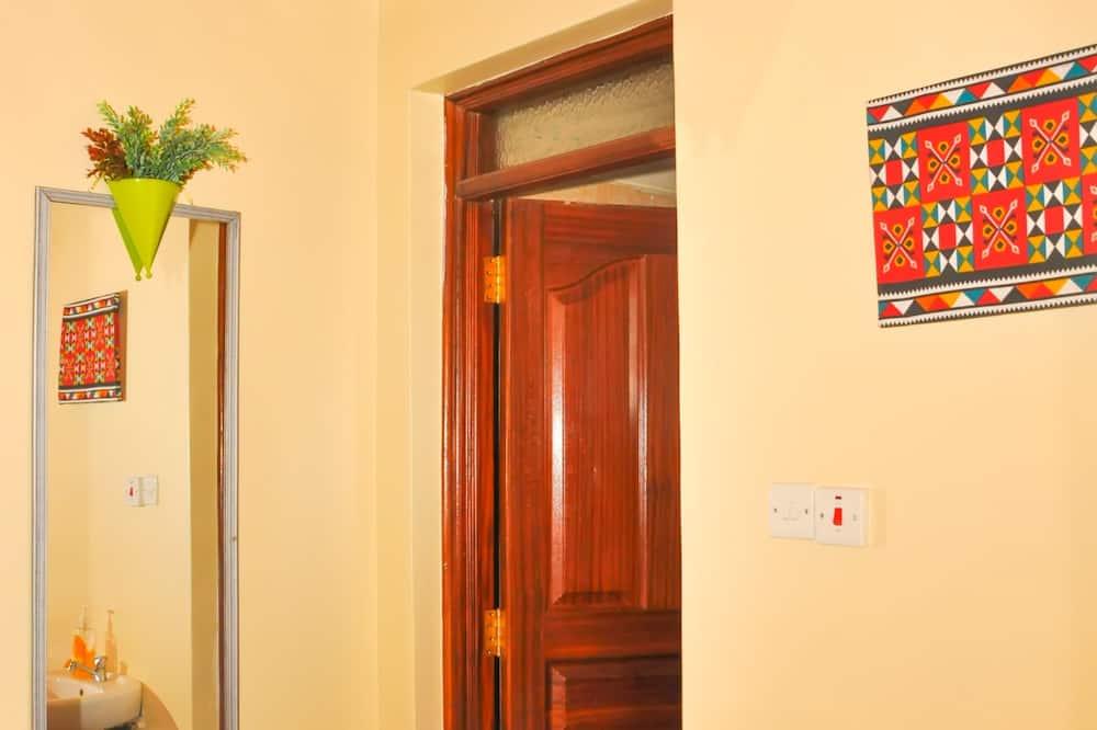 Apartmán typu Comfort, výhľad na mesto - Kúpeľňa