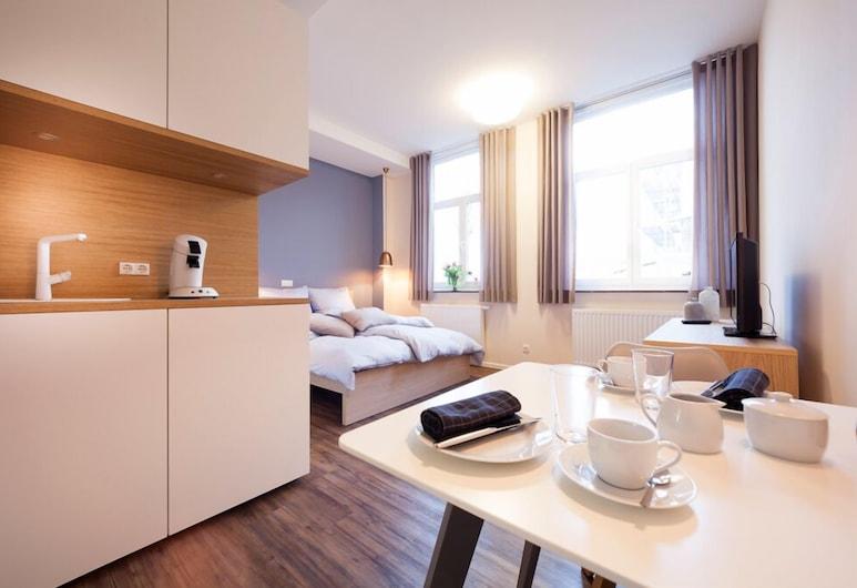 Ferienwohnungen Ludgerushof, Bocholt, Standardni studio apartman, Dnevni boravak