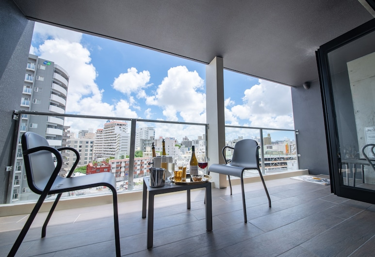 HOTEL Viviana, Naha, Executive İki Ayrı Yataklı Oda, Balkon
