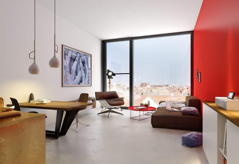 Aeronaut, Berlynas, Apartamentai su patogumais, Svetainės zona