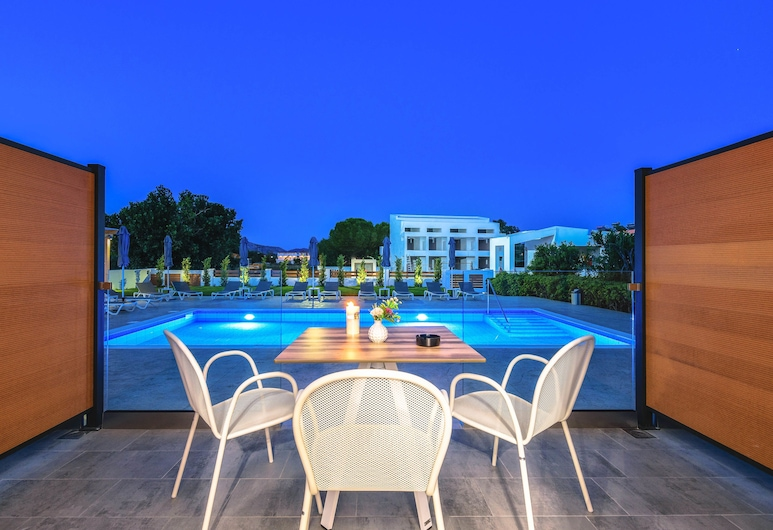 White Canvas Boutique Studios, Zakynthos, Deluxe Studio, Pool View, Guest Room View