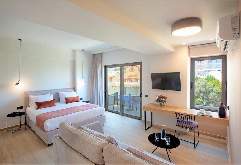 The City Hotel & Suites, Rethymno, Executive Suite, Bilik Tamu