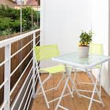 Doppia Classic, bagno in camera - Vista balcone