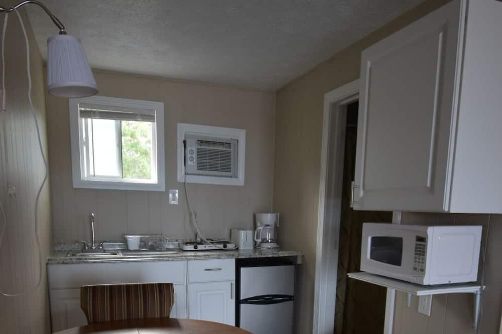 ห้องพรีเมียร์, เตียงใหญ่ 2 เตียง, ห้องครัวขนาดเล็ก, วิวทะเล - บริการอาหารในห้องพัก
