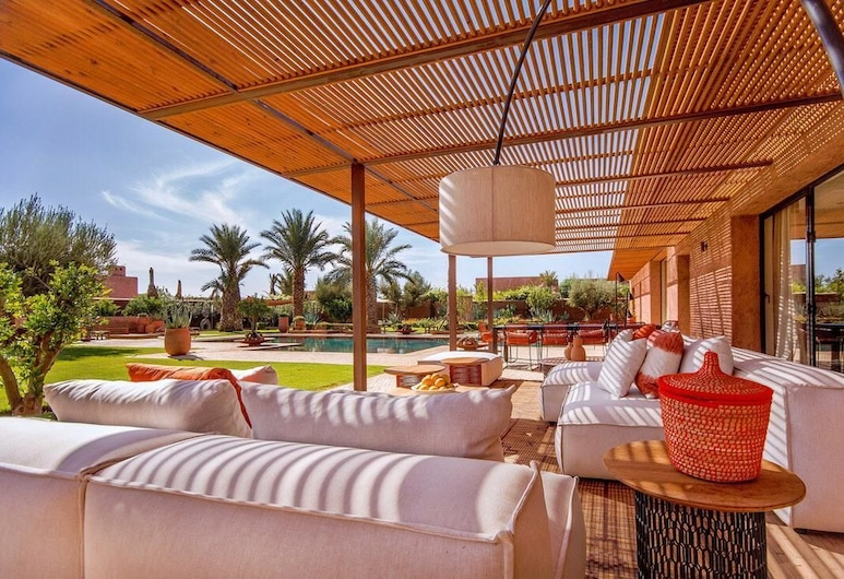 Villa Golf Royal Palm, Tameslouht, Terassi/patio