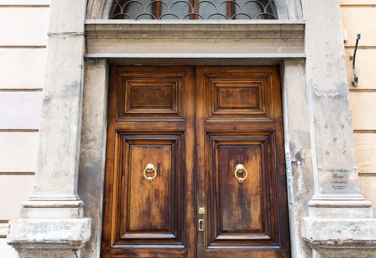 藝術工作室博爾戈酒店, 羅馬, 外觀