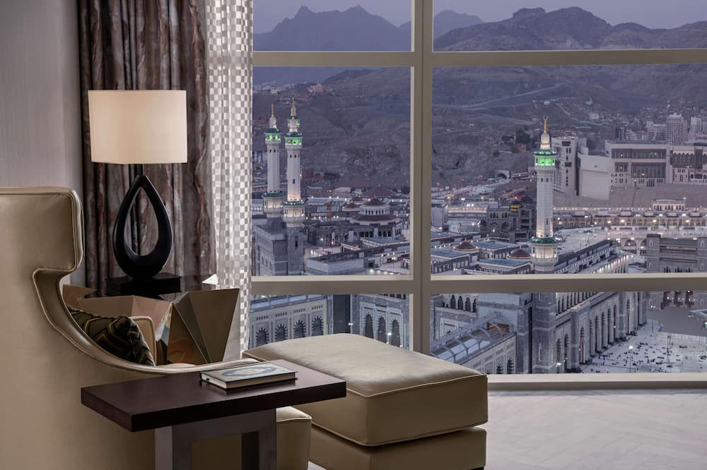 Presidential Suite, 1 King Bed (Haram) - Living Area
