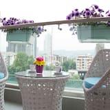 Comfort-Apartment, Stadtblick - Balkon