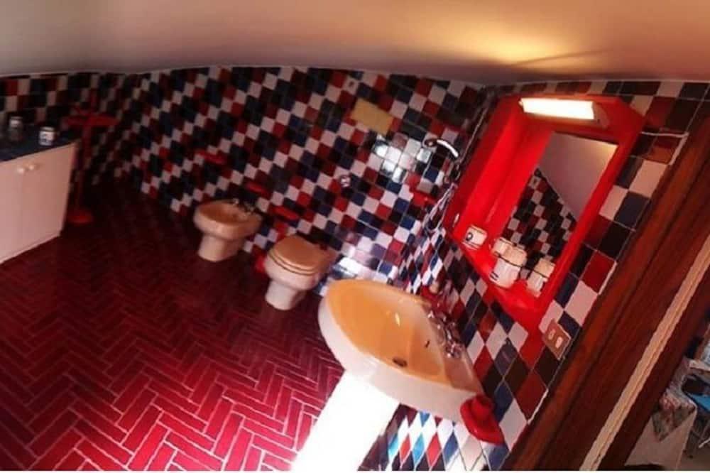 時尚客房, 1 張標準雙人床, 庭園景 - 浴室