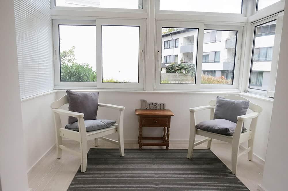公寓, 1 間臥室 (Silber) - 客廳