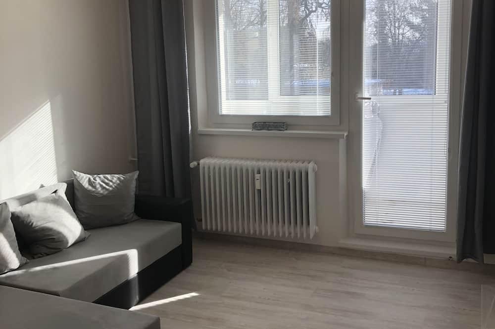 Apartamento Premium, várias camas, Vista Montanha - Área de Estar