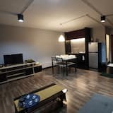 Superior Room, Multiple Beds, Garden View - Living Area