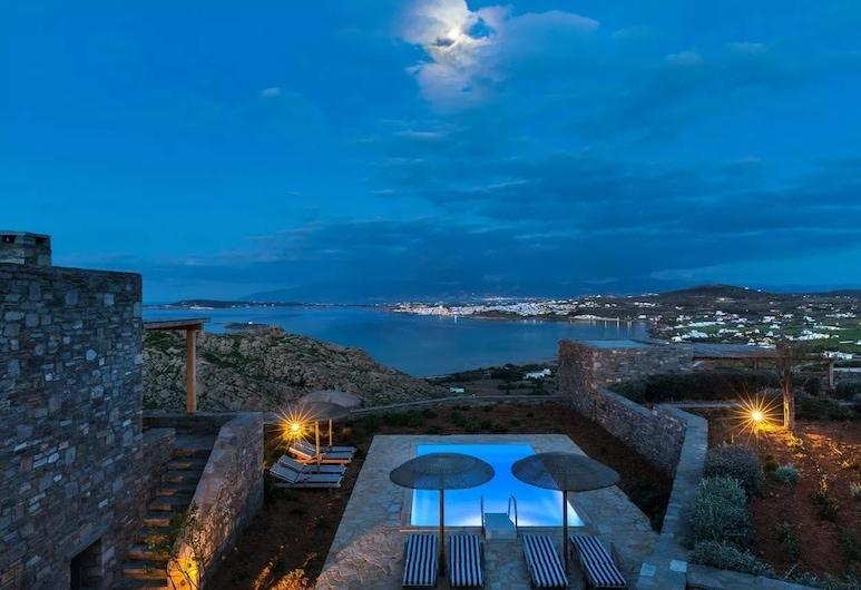 Acron Villas, Paros, Cyan Villa, 3 Bedrooms, Private Pool, Sea View, Room