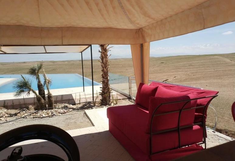 Canyon Lodge, Sidi Badhaj, Αίθριο/βεράντα