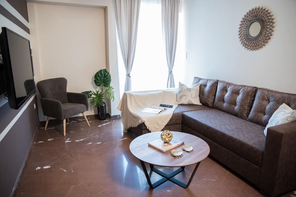 Deluxe Apartment, 1 Bedroom (C1) - Living Area