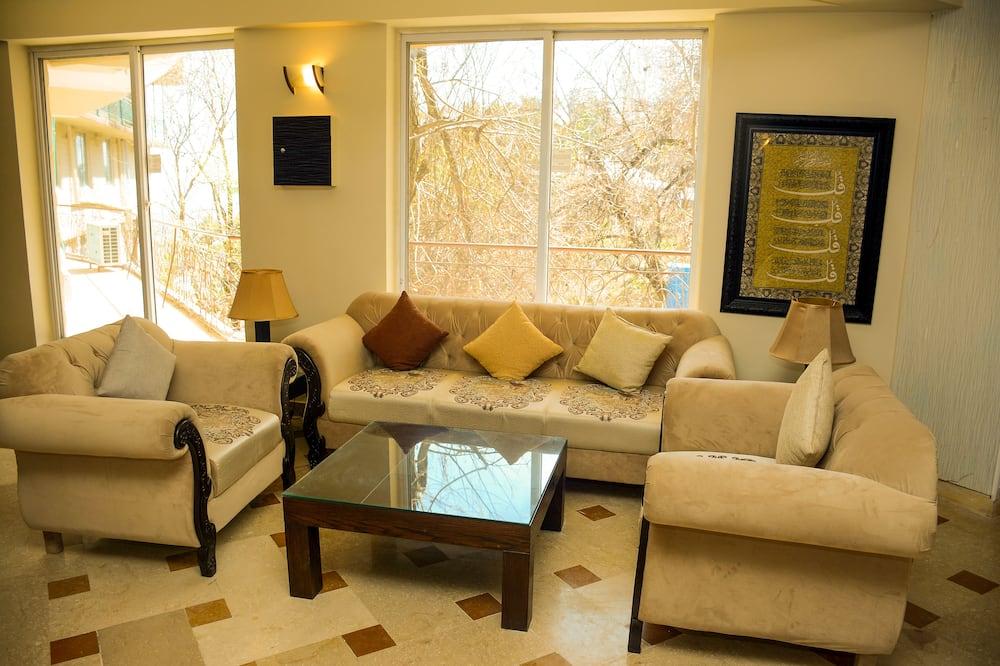 Presidential-Suite, Gartenblick - Wohnzimmer