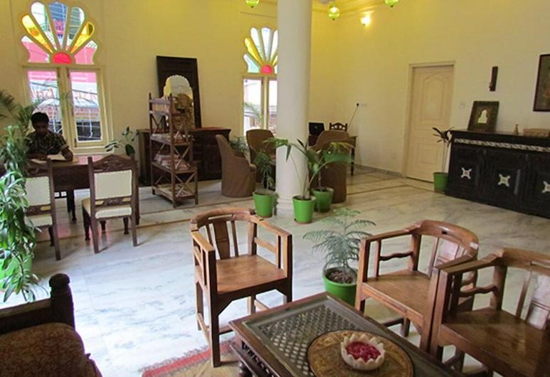 Hotel Pratap Bhawan, Udaipur, Lobby Sitting Area
