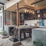 Asrama Umum, asrama campuran (AC) - Dapur bersama