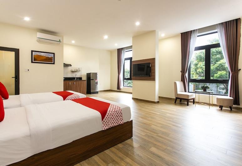 Central Apartment, Da Nang, Studio apartman (King), Soba
