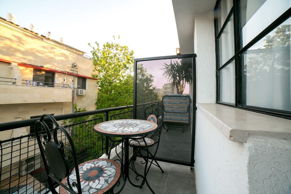 Apartmán, 1 ložnice, balkon - Balkón