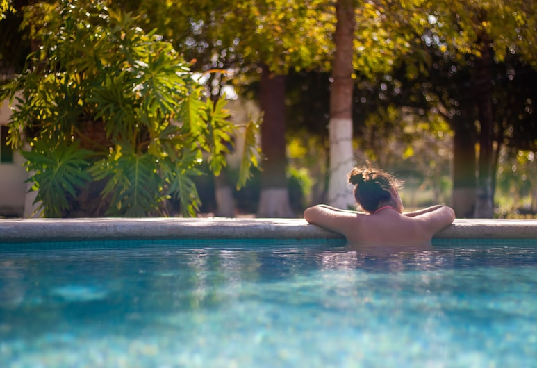 Mayan Secret Hotel Boutique, Chetumal, Venkovní bazén