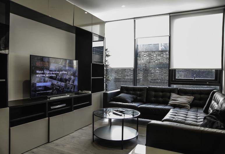 MD Luxury Apartment, London, Superior-Apartment, Wohnbereich