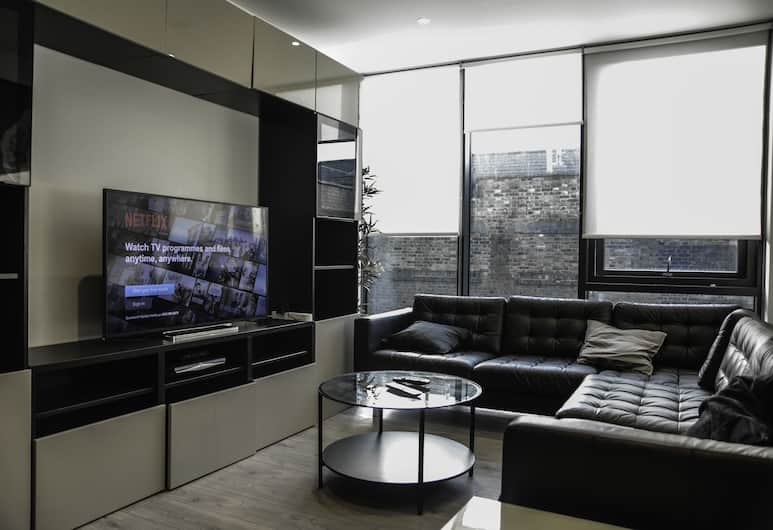 MD Luxury Apartment, London, Superior Apartment, Living Area