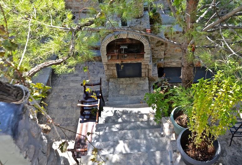 Spitakia Cottages, Chios, ห้องซูพีเรียสวีท, ระเบียง, ติดภูเขา (Stone), ลานระเบียง/นอกชาน