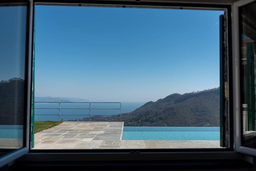 Villa, četras guļamistabas, privāts baseins, skats uz jūru - Viesu numurs