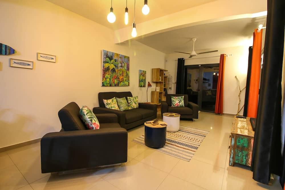 Vila Comfort, 3 kamar tidur, kolam renang pribadi - Ruang Keluarga