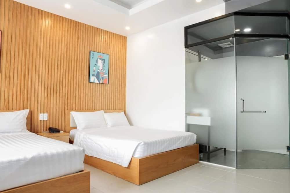 ห้องเอ็กเซกคิวทีฟทวิน, เตียงควีนไซส์ 2 เตียง - ห้องน้ำ