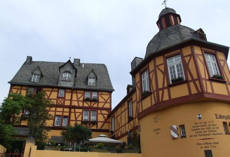 Historisches Wirtshaus an der Lahn, Ланштайн, Фасад отеля